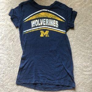 University of Michigan girl's shirt